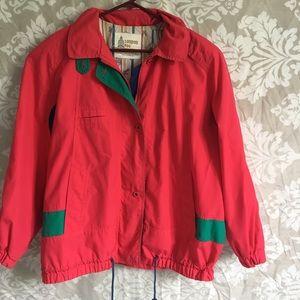 Vintage 80's London Fog red jacket